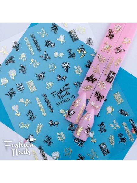 Слайдер силиконовый Fashion Nails Stiker №10