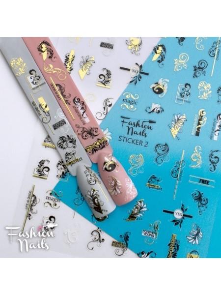 Слайдер силиконовый Fashion Nails Stiker №2