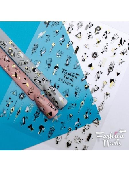 Слайдер силиконовый Fashion Nails Stiker №4