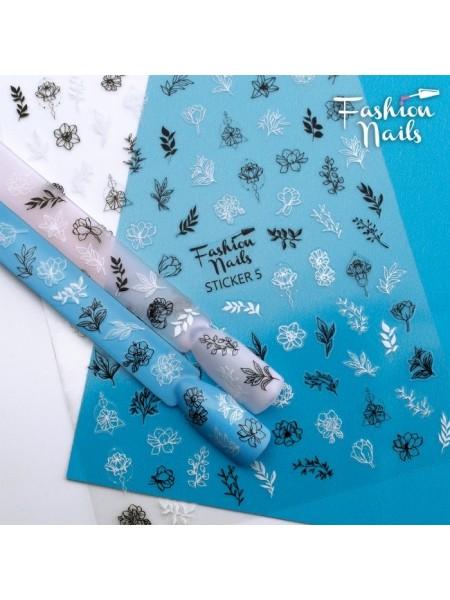 Слайдер силиконовый Fashion Nails Stiker №5