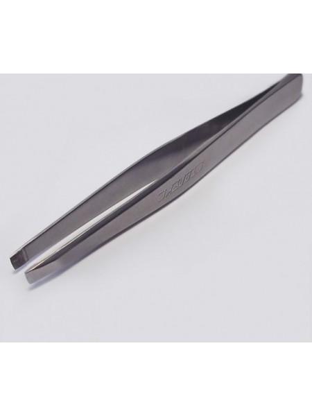 Сталекс TBC-10/1 Пинцет для бровей (широкие прямые кромки)