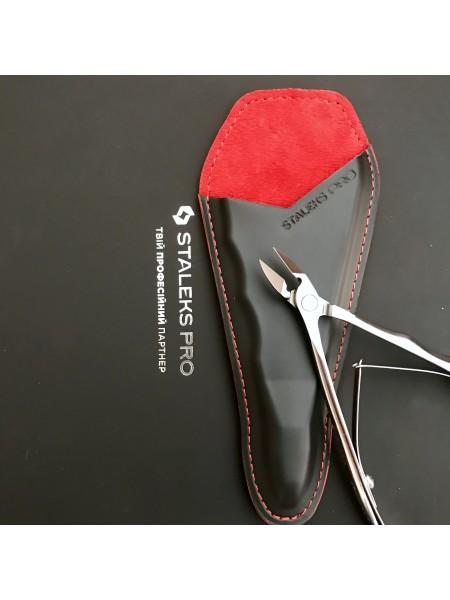 Akционное предложение! Сталекс Кусачки  для кожи NE-21-1 (режущая часть - 10 мм) + кожаный чехол