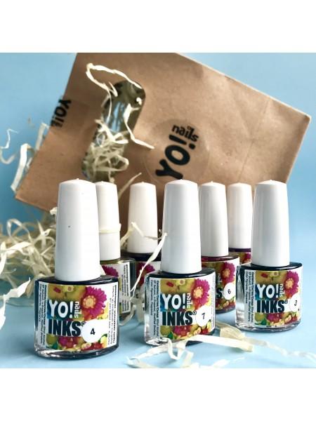 Yo! Nails Набор акварельных чернил INKS