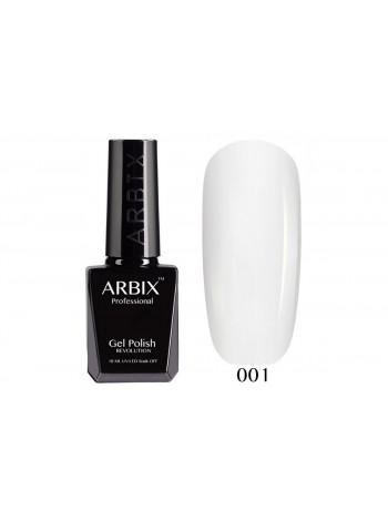 Гель лак Arbix №001, белый