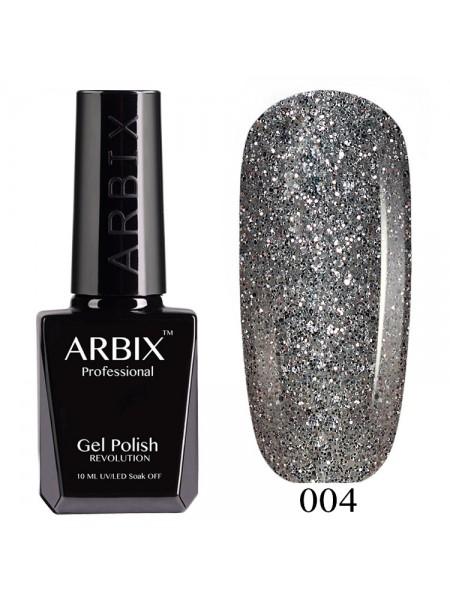 Гель лак Arbix №004, снегурочка