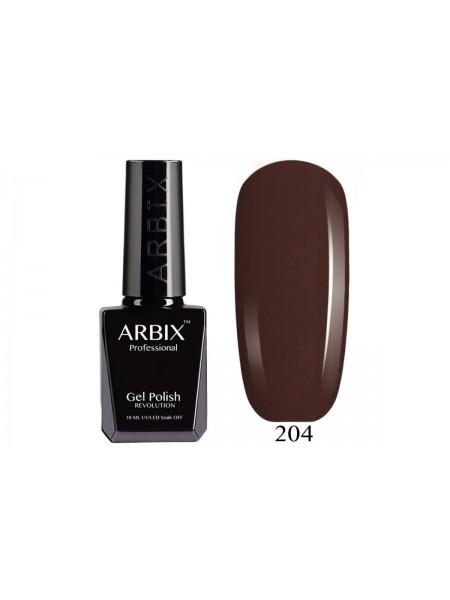 Гель лак Arbix №204, Американский Брауни