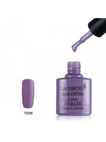 Гель лак Lacomchir TD008 фиолетовый