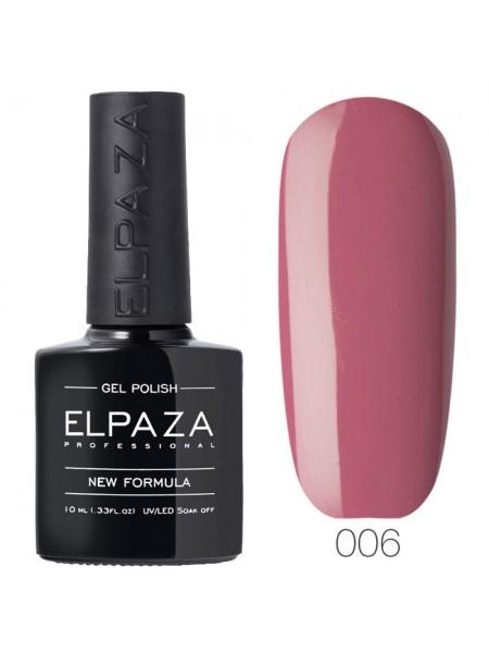 Гель лак Elpaza №006, розовый сон