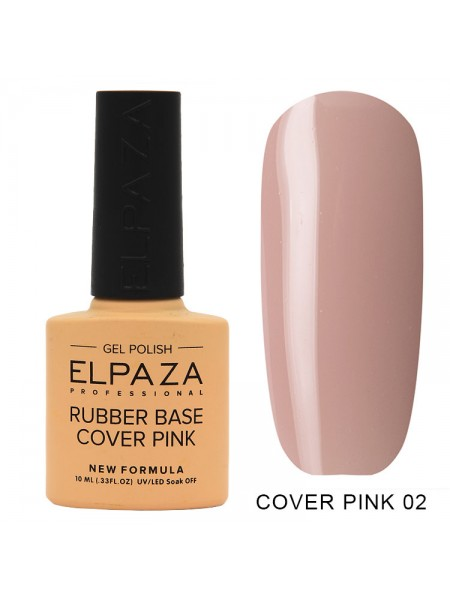 Elpaza Rubber base Cover pink №02