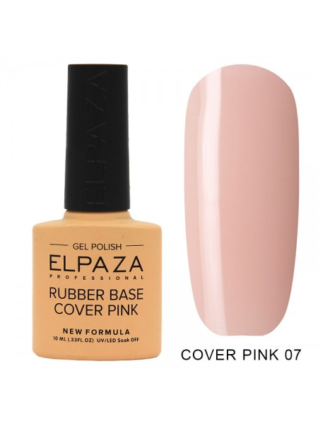 Elpaza Rubber base Cover pink №07