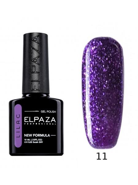 Гель лак Elpaza Lilac №11, таинственный