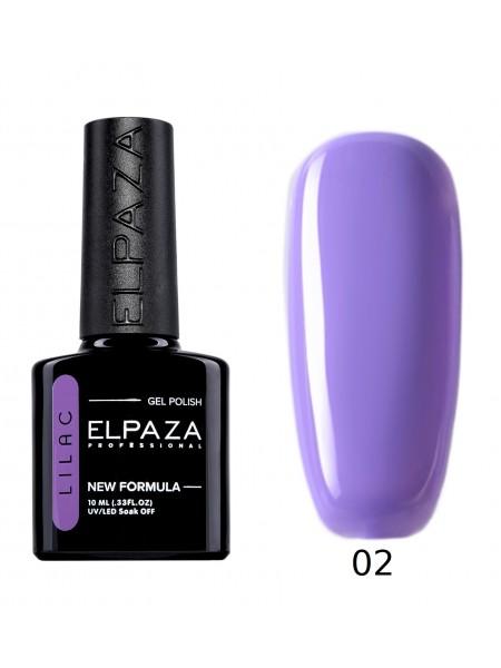 Гель лак Elpaza Lilac №02, ласковый прибой