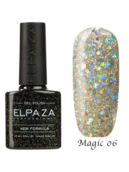 Гель лак Elpaza Magic Glitter №06, алмаз