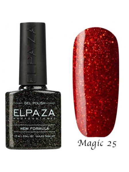 Гель лак Elpaza Magic Glitter №25, Куршавель