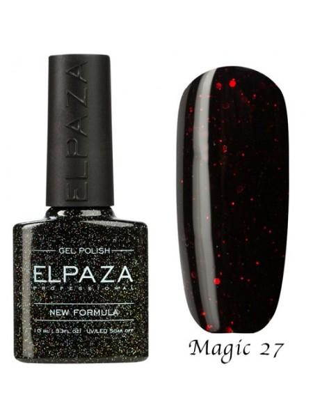 Гель лак Elpaza Magic Glitter №27, Вавилон