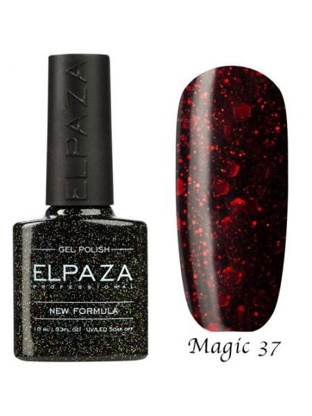 Гель лак Elpaza Magic Glitter №37, игристое вино