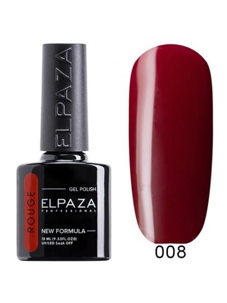 Гель лак Elpaza Rouge №08, марсала