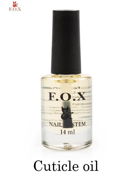 Масло для ухода за кутикулой F.O.X Cuticle oil, 14 мл.