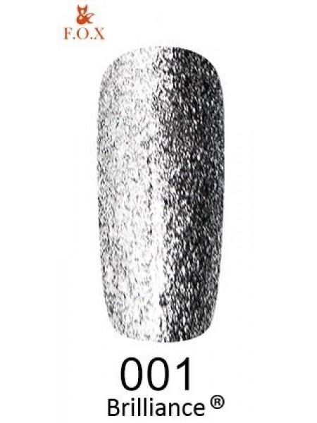 Гель-лак F.O.X Brilliance №001, 6 мл