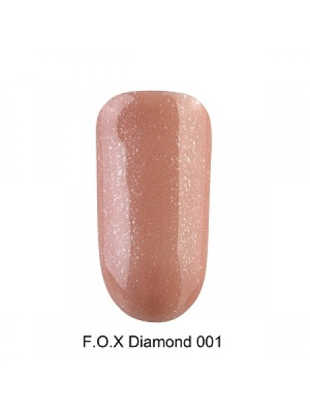 Гель-лак F.O.X Diamond №001, 6 мл