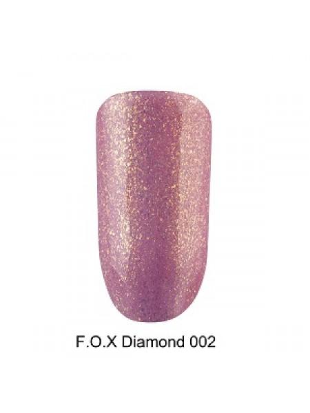 Гель-лак F.O.X Diamond №002, 6 мл