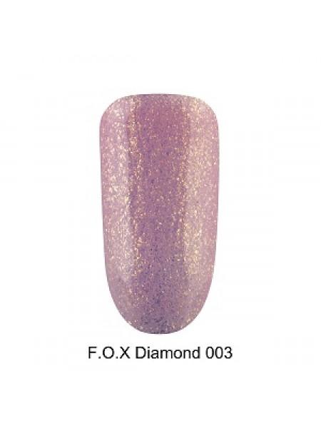 Гель-лак F.O.X Diamond №003, 6 мл