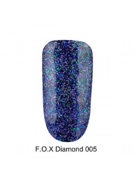Гель-лак F.O.X Diamond №005, 6 мл