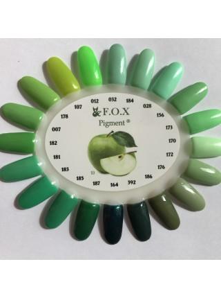 Гель лак F.O.X Pigment 6 мл № 007