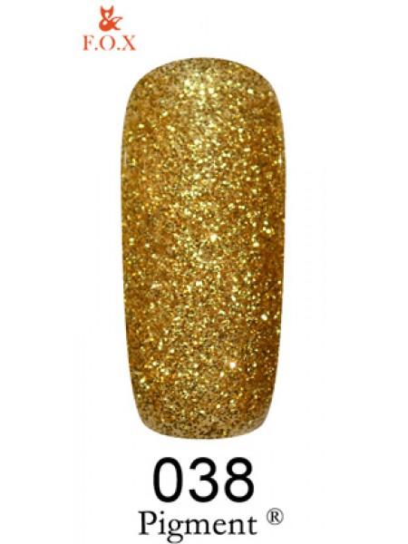 Гель лак F.O.X Pigment 12 мл № 038