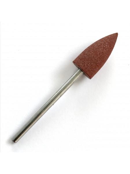 Полировщик силиконовый 8*18, коричневый
