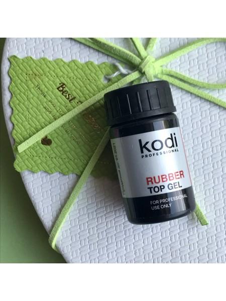 Kodi Rubber Top (Каучуковое верхнее покрытие для гель лака) 14 мл.