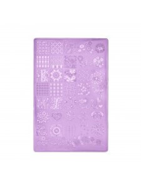 Пластина для стемпинга К12 (9,5х14,5 см.)
