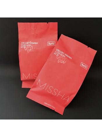 Missha Запаска к кушону с бархатным финишем  Velvet Finish Cusion (Refill), 15 г.