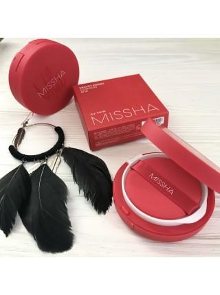 Missha кушон с матовым финишем Velvet Finish Cushion SPF 50+/PA+++, 15 г. (оттенок 21/23)