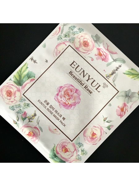 Маска для лица Eunyul Beautiful Rose Mask Pack, 30 мл