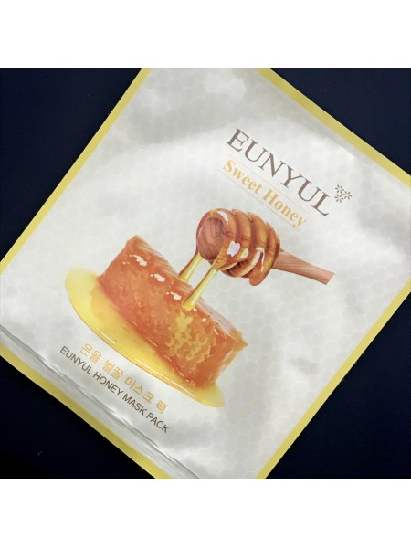 Eunyul маска для лицаbHoney Mask Pack питательная с медом