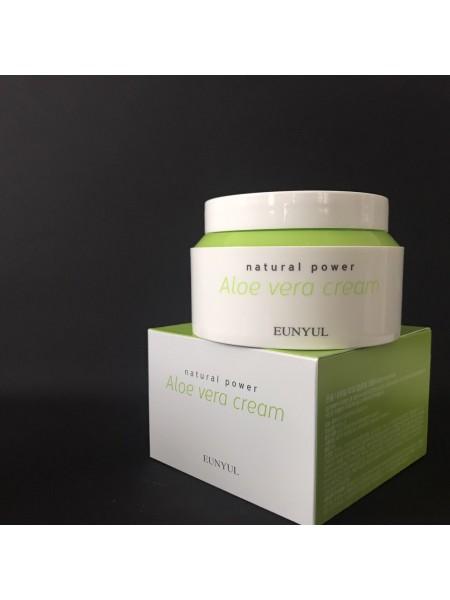 EUNYUL Крем для лица с алоэ вера Natural Power Aloe Cream,100 мл