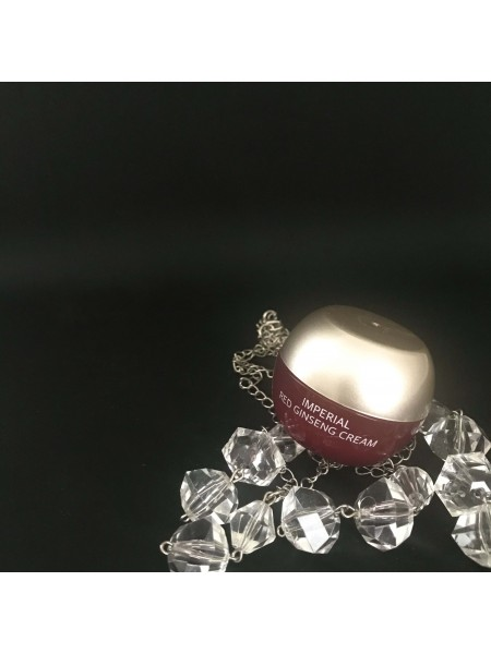 Мини-версия Крем для лица с улиткой и женьшенем Ottie Imperial Red Ginseng Snail Cream, 10 мл
