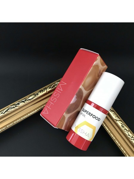 Missha масло для губ с экстрактом мёда Superfood Honey  Lip Oil, 5,2 г.