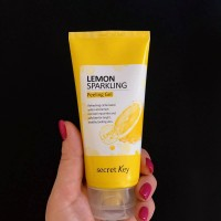 Пилинг-скатка для лица с лимоном Secret Key Lemon Sparkling Peeling Gel, 120 мл