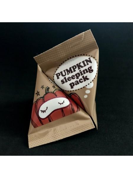 Мини-версия Too Cool for School Pumpkin Sleeping Pack ночная маска с ферментом тыквы, 3 г