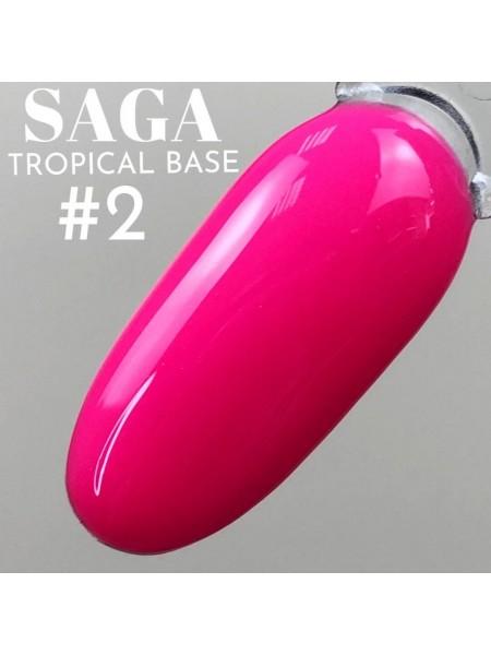 Saga база Tropcal №02, розовая