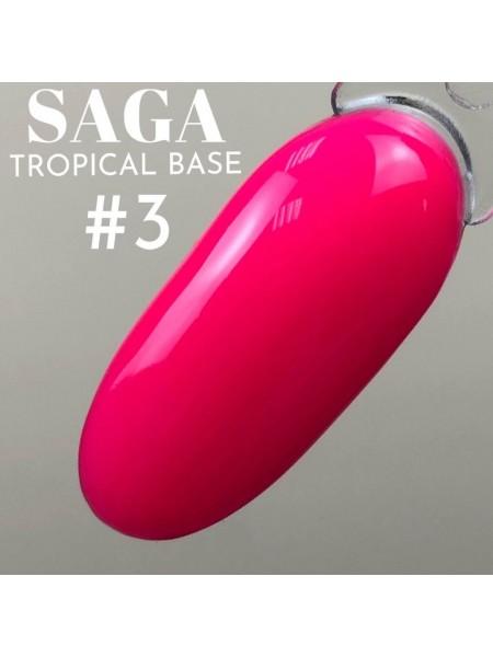 Saga база Tropcal №03, малиновая
