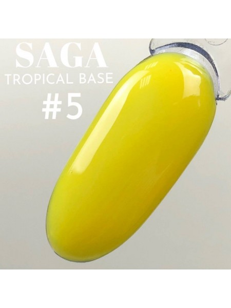 Saga база Tropcal №05, жёлтая