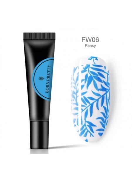 Гель-краска для стемпинга Born Pretty FW06
