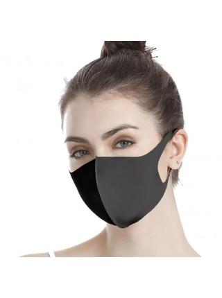 Hабор из 5-и однослойных неопреновых  масок, цвет черный