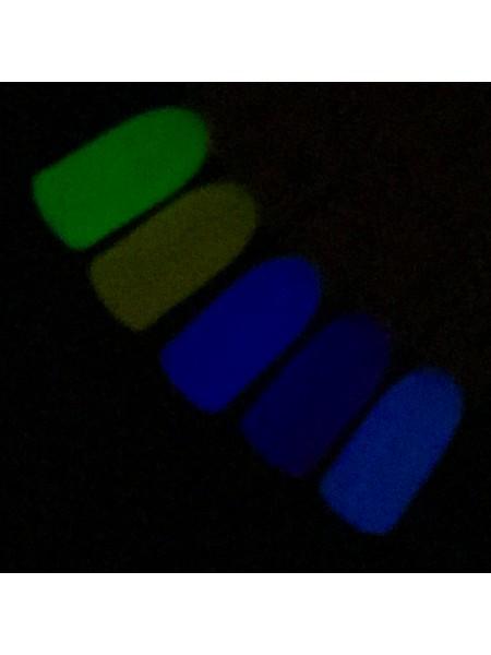 Гель лак VOG Лунный свет №02 (Свет-белый, темнота-голубой)