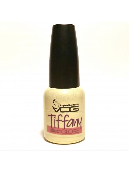 VOG  Top Tiffany №3, 10 ml (золотистая блестка)