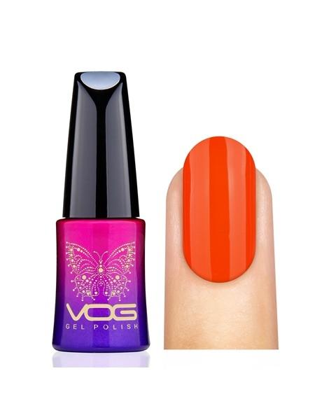 Гель лак VOG №003 оранжево-красный, 12 мл.