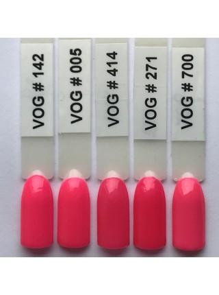 Гель лак VOG №005 неоново-розовый, 12 мл.